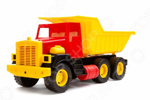 Самосвал игрушечный Пластмастер большой танк игрушечный пластмастер бармалей