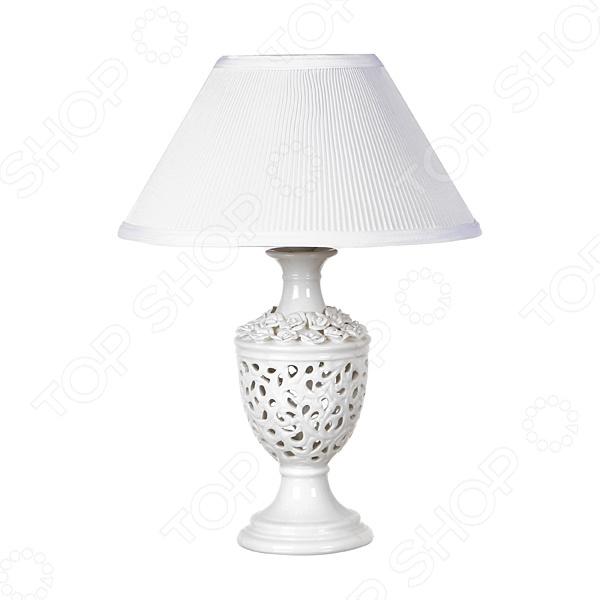 Светильник настольный с абажуром Lefard «Вуаль» 64-332