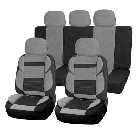 Купить Набор чехлов для сидений SKYWAY Protect 2 «Тонкие полосы»