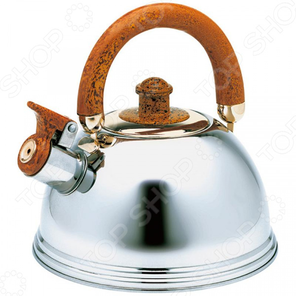 Чайник со свистком Wellberg WB-6078 Whistling чайник wellberg wb 3431 f