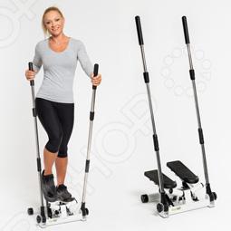 Тренажер Степпер 2 в 1 GymBit Скандинавская ходьба для дома