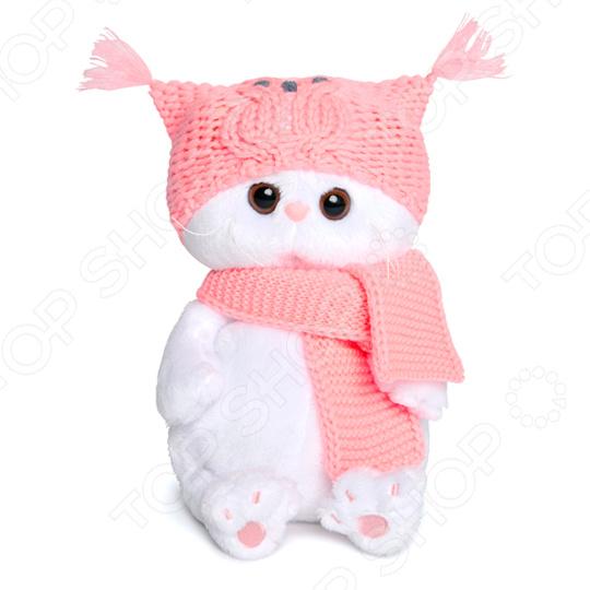 Мягкая игрушка BUDI BASA BABY «Ли-Ли в шапке-сова и шарфе» i baby сова