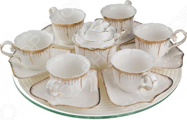 Чайный сервиз Lefard «Цветочная симфония» 590-057 чайный набор lefard цветочная симфония 590 004