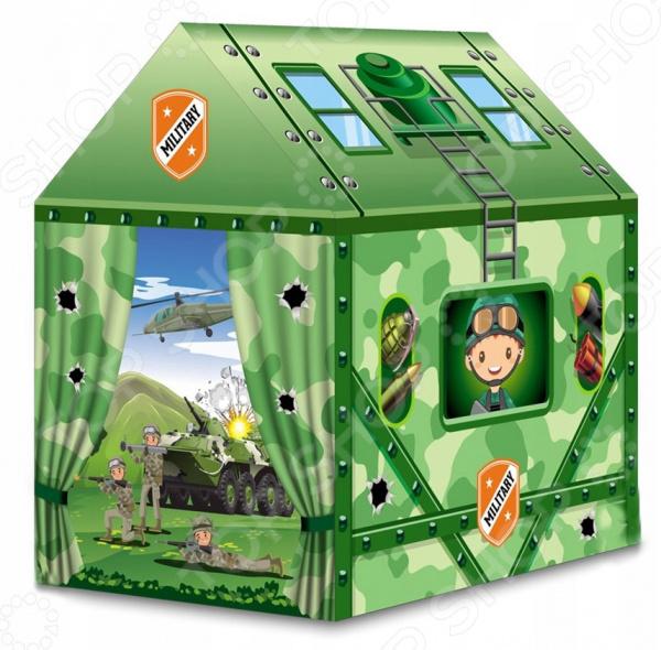 Палатка игровая Наша Игрушка «Военная» игрушки для улицы игровая палатка с мячиками 100 шт calida вилла 85х85х110см