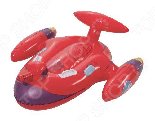 Игрушка для плавания верхом Bestway «Космолет» с брызгалкой