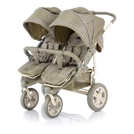 Купить Коляска прогулочная для двойни Baby Care Cruze DUO