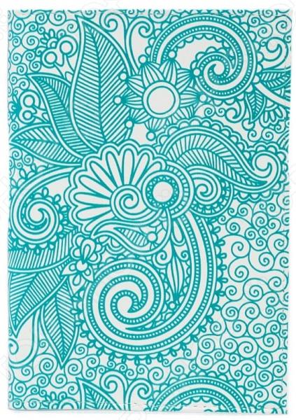 Обложка для паспорта кожаная Mitya Veselkov «Мятный узор» обложка для автодокументов кожаная mitya veselkov гагарин