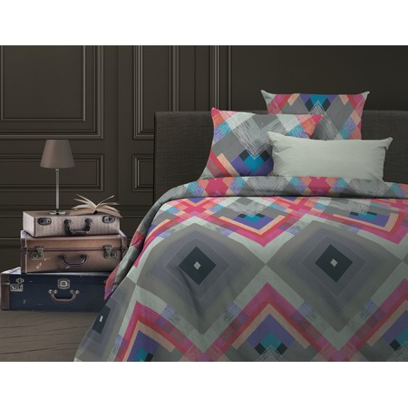 Купить Комплект постельного белья Wenge Avangard. 2-спальный. Цвет: розовый, голубой