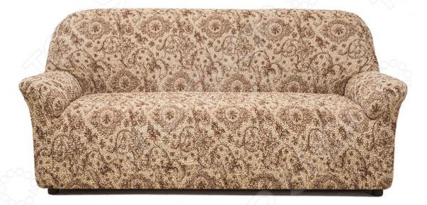 Zakazat.ru: Натяжной чехол на четырехместный диван Еврочехол «Виста. Флоренция»