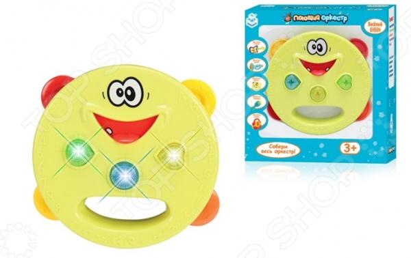 Бубен игрушечный 1 Toy «Поющий Оркестр» 1 toy игрушечный автомат пулемет взвод