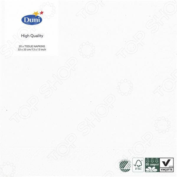 Салфетки бумажные Duni 104030