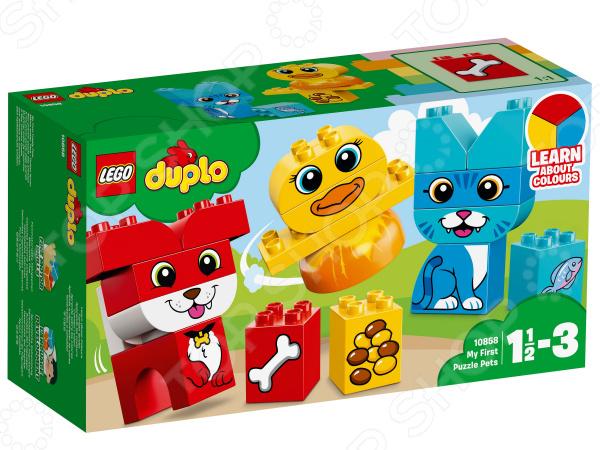 Конструктор для малышей LEGO Duplo «Мои первые домашние животные» конструктор lego duplo домашние животные 10838
