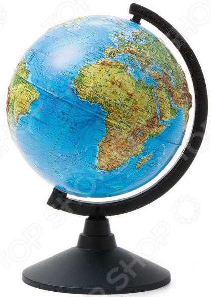 Глобус Globen «Физический рельефный» globen глобус земли физический диаметр 210 мм ке012100176