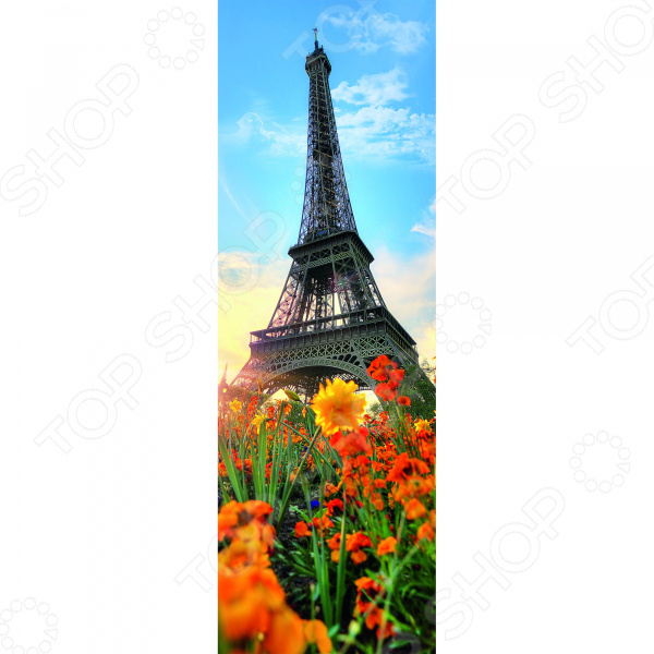 Пазл 300 элементов Trefl «Эйфелева башня среди цветов» пазл 73 5 x 48 8 1000 элементов printio эйфелева башня