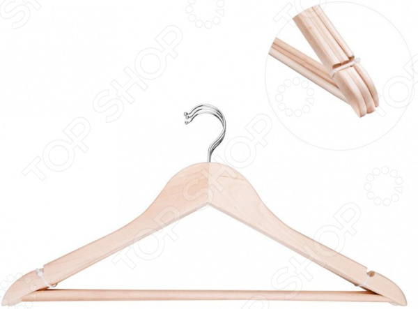Набор вешалок-плечиков Miolla CL-1111 блузки и рубашки