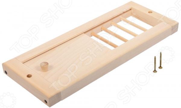 Решетка вентиляционная Банные штучки с задвижкой. В ассортименте