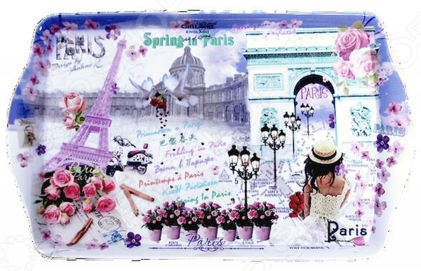 Поднос сервировочный Gift'n'home «Весна в Париже» Gift'n'home - артикул: 1754248