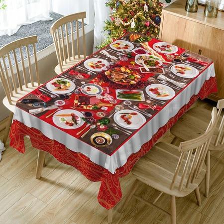 Купить Скатерть ТамиТекс «Праздничный ужин 2»