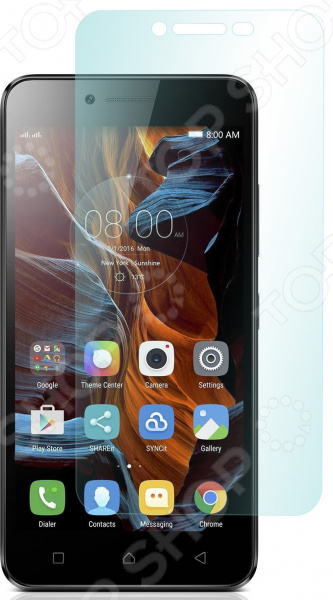 Стекло защитное skinBOX Lenovo Vibe K5/Vibe K5 Plus накладка защитная skinbox lenovo vibe c2