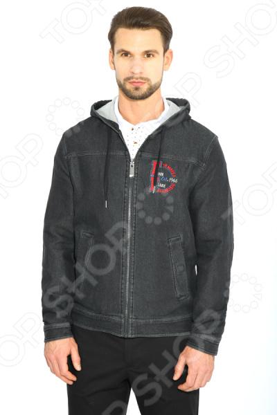 Куртка Finn Flare B17-22011. Цвет: темно-серый