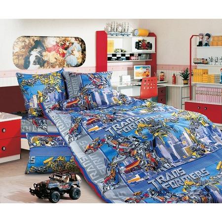 Купить Детский комплект постельного белья Бамбино «Трансформеры»