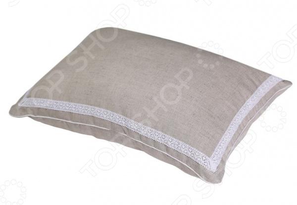 Подушка Био-Текстиль с ортопедическим эффектом «Кедровое очарование» Naturel