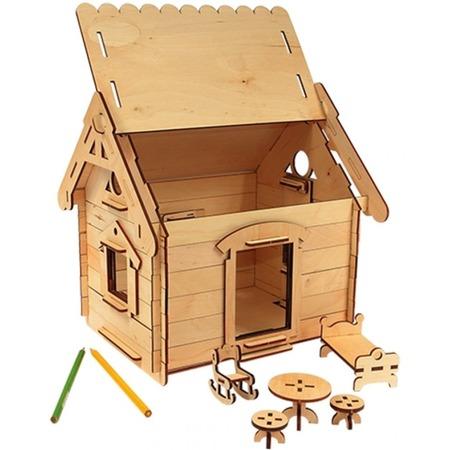 Купить Игрушка-конструктор WOODY «Мой дом»