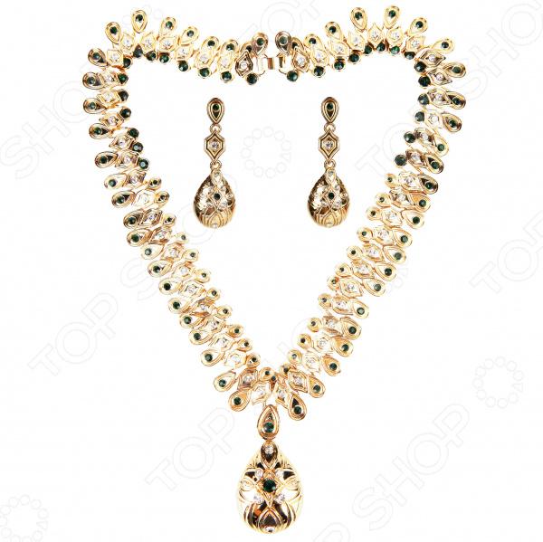 Ожерелье и серьги Laura Amatti «Наследие Королевы»