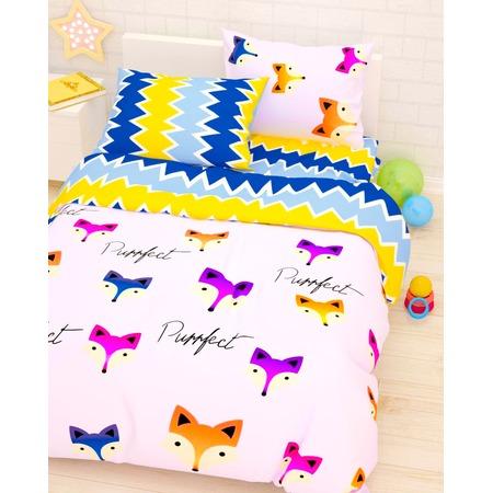 Купить Детский комплект постельного белья Сирень «Лисы»