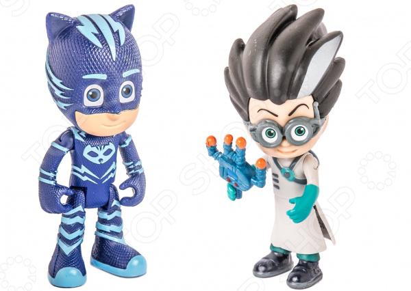 Набор фигурок игрушечных PJ Masks «Кэтбой и Ромео»