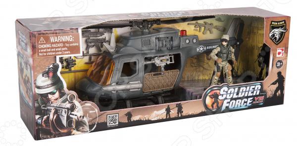 Игровой набор с фигуркой Chapmei «Десантный вертолет»
