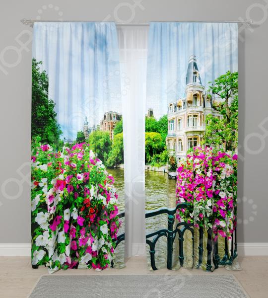 Фотошторы Стильный дом «Веранда» шторы стильный дом фотошторы альстромерия