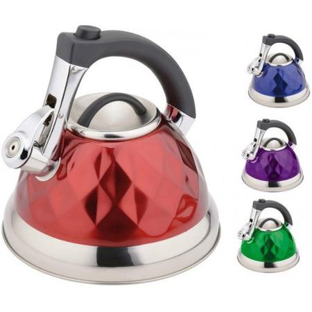 Купить Чайник со свистком Bekker BK-S563. В ассортименте