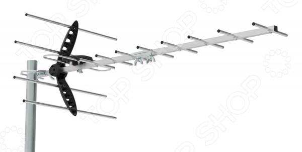 Антенна телевизионная Hyundai H-TAE260 телевизионная антенна tesler ida 250 активная телевизионная комнатная антенна для приема аналогового и цифрового сигнала dvbt t2