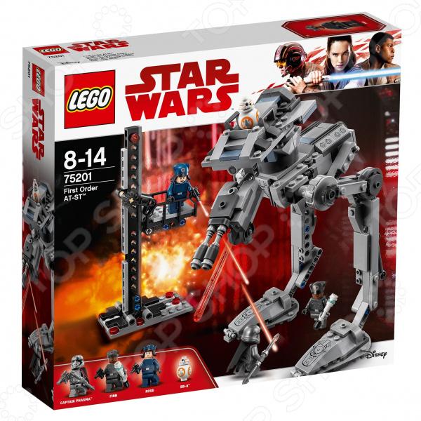 Конструктор-игрушка LEGO Star Wars «Вездеход AT-ST Первого Ордена» lego education 9689 простые механизмы