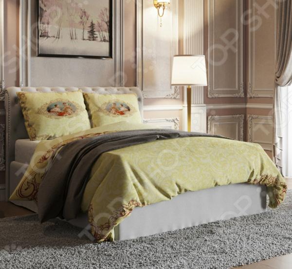 Комплект постельного белья Стильный дом «Аллегория» фотоштора стильный дом фотошторы стильный дом романтичный букет