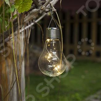Лампа садовая «Груша» Solar Buld Hanger with Clip 000294