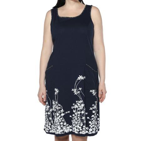 Купить Платье Алтекс «Цветущий сад». Цвет: синий