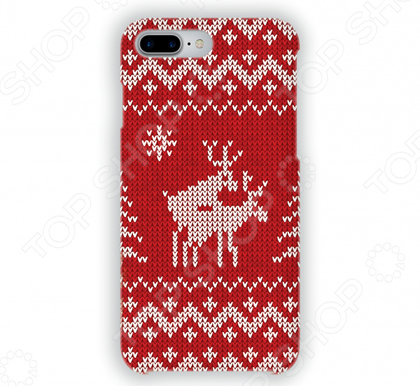 Чехол для iPhone 7 Plus Mitya Veselkov «Скандинавская любовь» mitya veselkov чехол для iphone 6 скандинавская лошадка