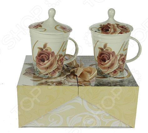 Чайный набор «Чайная роза» 12336