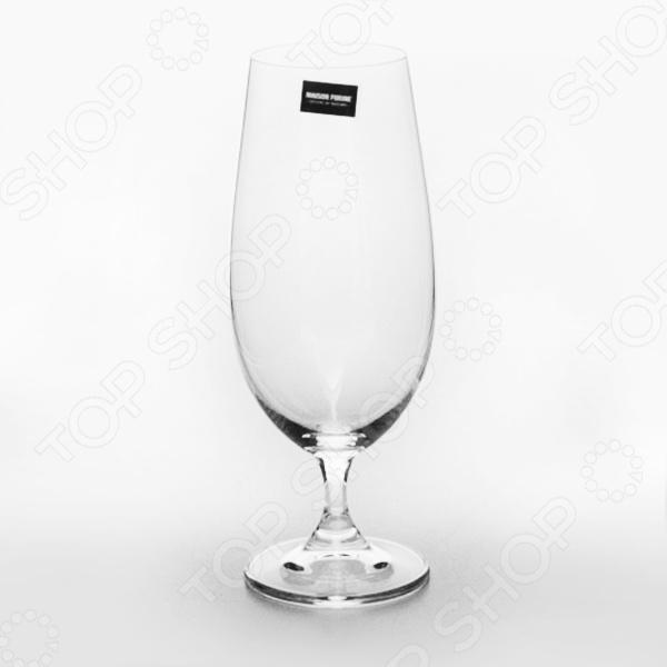 Набор бокалов Banquet Crystal Leona. Объем: 370 мл набор бокалов crystalex ангела оптика отводка зол 6шт 400мл бренди стекло