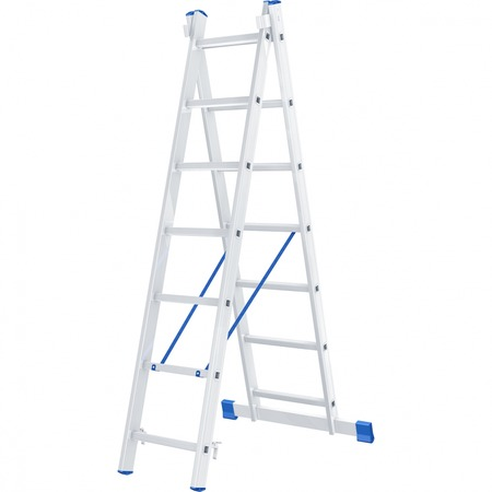 Лестница двухсекционная СИБРТЕХ