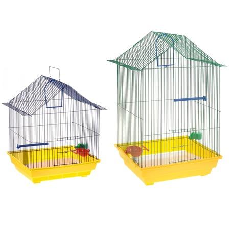 Купить Клетка для птиц ZOOmark «Домик»