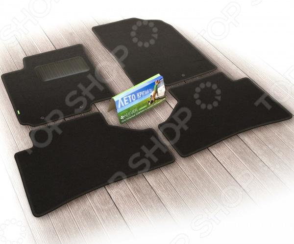 Комплект ковриков в салон автомобиля Klever Nissan Qashqai 2014 РФ Standard klever nissan sentra 2014 econom