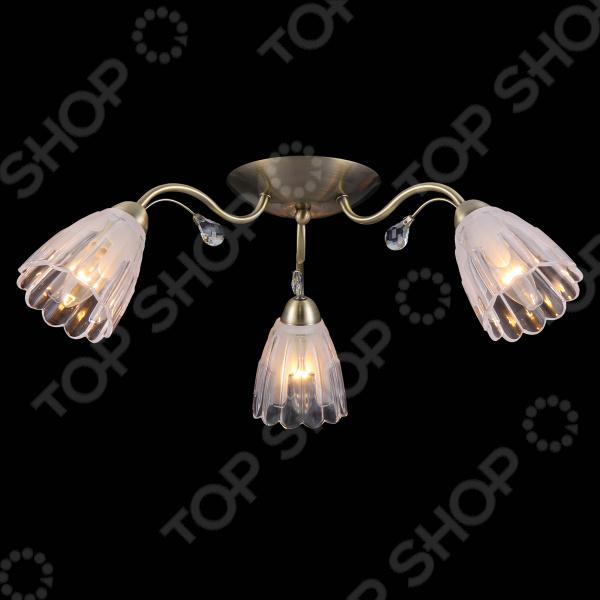 Люстра потолочная Natali Kovaltseva 11433/3С ANTIQUE  люстра natali kovaltseva passion 11360 3с antique