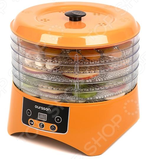 Сушилка для овощей и фруктов Oursson DH2303D/OR сушилка oursson dh2303