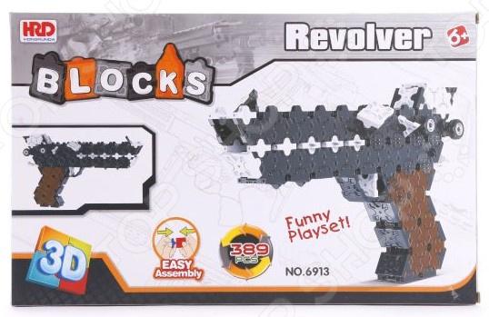 Конструктор 3D Наша Игрушка «Пистолет»