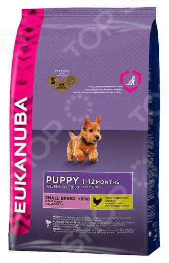 Корм сухой для щенков мелких пород Eukanuba Puppy Small Breed спб корм корм для щенка бенто кронен