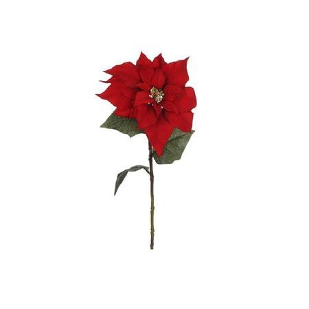 Купить Новогоднее украшение Christmas House «Цветок Пуансеттия»