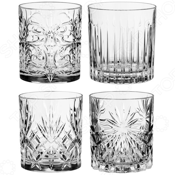 Набор стаканов RCR «Миксолоджи» 305-592 набор стаканов rcr имперо 305 112